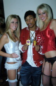 Pharrell Williams and guests during Playboy's 5th Annual Super Saturday Night Event Brings Heaven and Hell to Houston at Corinthian in Houston Texas...