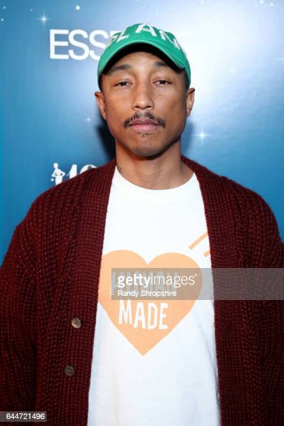 Pharrell Williams at Essence Black Women in Hollywood Awards at the Beverly Wilshire Four Seasons Hotel on February 23 2017 in Beverly Hills...