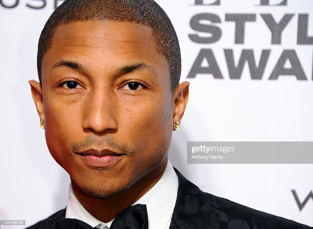 Pharrell Williams attends the Elle Style Awards 2014 at one Embankment on February 18, 2014 in London, England.