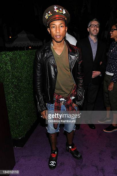 Pharrell Williams attends The Kingdom of Morocco and Maybach dinner in celebration of Art Basel with Maria and Bill Bell Jeffrey Deitch and MOCA at...
