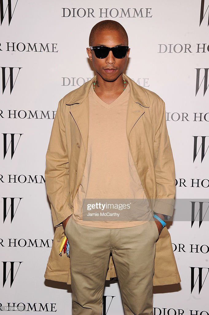 <a gi-track='captionPersonalityLinkClicked' href=/galleries/search?phrase=Pharrell+Williams&family=editorial&specificpeople=161396 ng-click='$event.stopPropagation()'>Pharrell Williams</a> attends the World Premiere of Bruce Weber's Film 'CAN I MAKE THE MUSIC FLY' hosted by DIOR Homme's Kris Van Assche, Bruce Weber, & W Magazine's Stefano Tonchi in Celebration of The New Dior Homme Miami Boutique at The Moore Building on December 5, 2012 in Miami, Florida.
