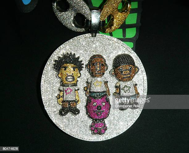 Pharrell Williams' necklace