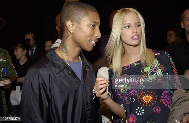 Pharrell Williams of NERD and Karolina Kurkova