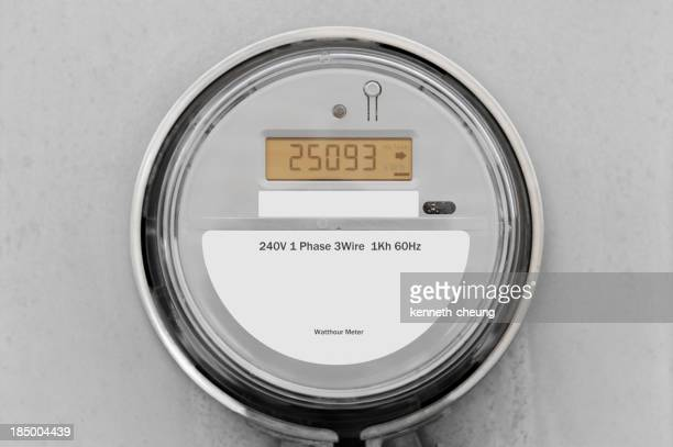240V 1 Phase 3 wire 1Kh 60Hz gray digital smart meter