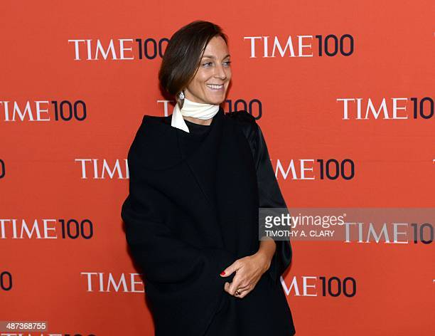 Pheobe Philo attends the Time 100 Gala celebrating the Time 100 issue of the Most Influential People In The World at Jazz at Lincoln Center on April...