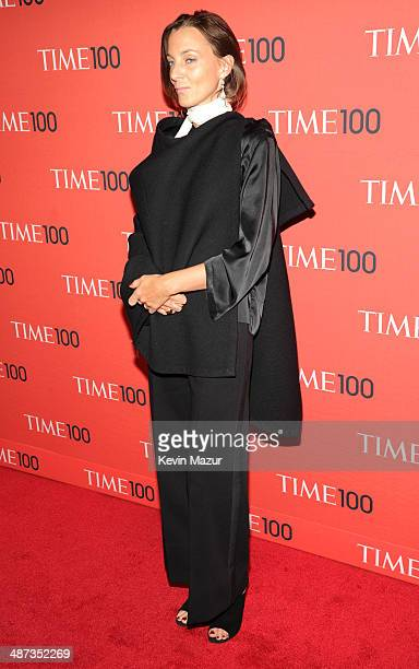 Pheobe Philo attends the TIME 100 Gala TIME's 100 most influential people in the world at Jazz at Lincoln Center on April 29 2014 in New York City