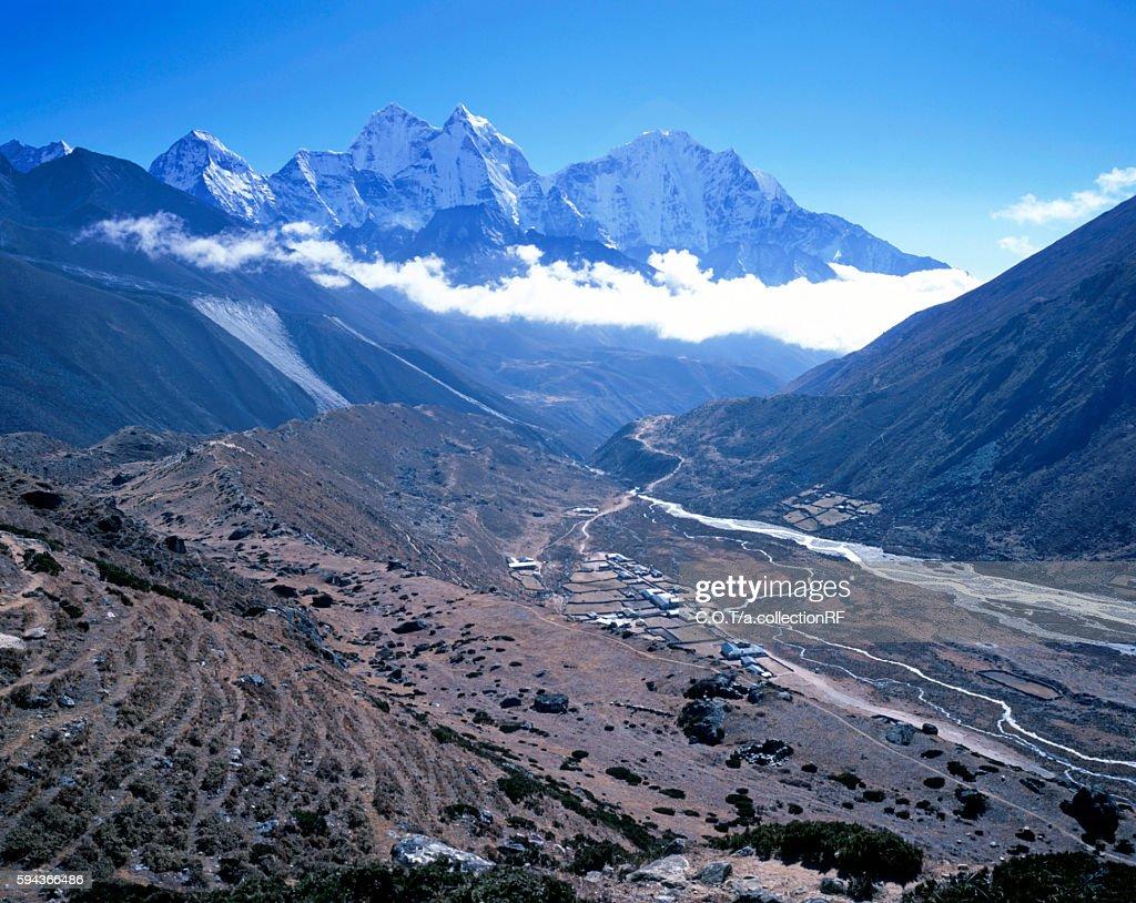 Pheriche Village Near Khumbu Himal, Himalaya