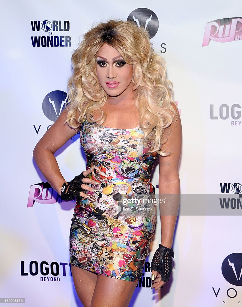 Phi Phi O'hara attends Logo TV's Official Pride NYC 2013 Event at Highline Ballroom on June 30, 2013 in New York City.