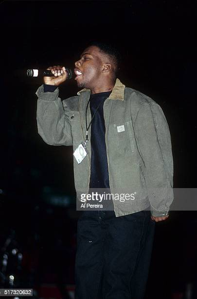 Phife Dawg of the hip hop group 'A Tribe Called Quest' performs in January 1992 in New York City New York