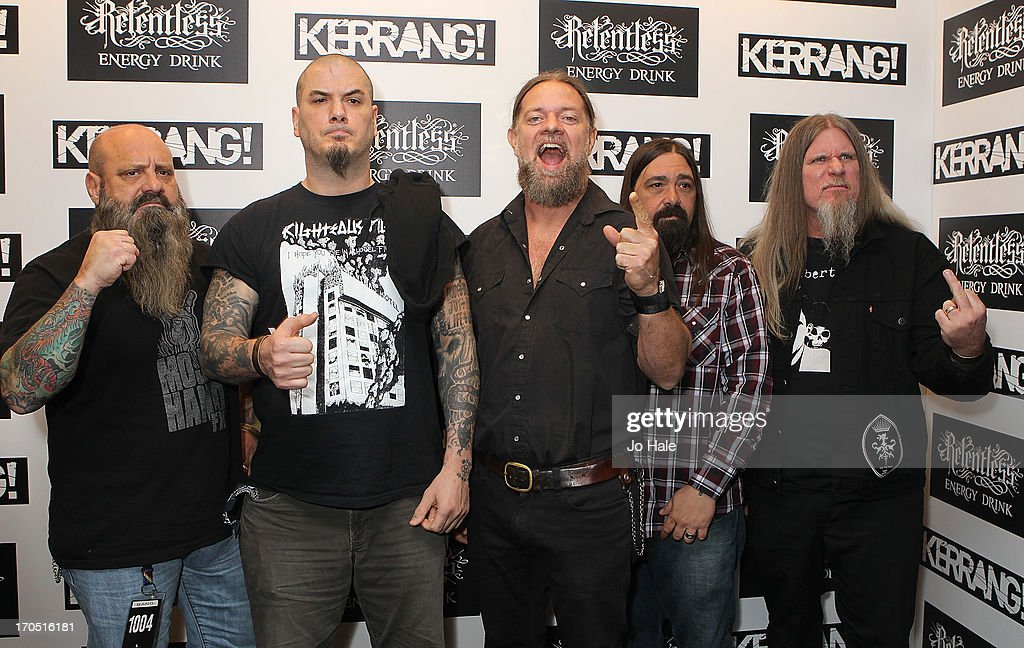 Phil Anselmo with his band Down attends The Kerrang! Awards at the Troxy on June 13, 2013 in London, England.