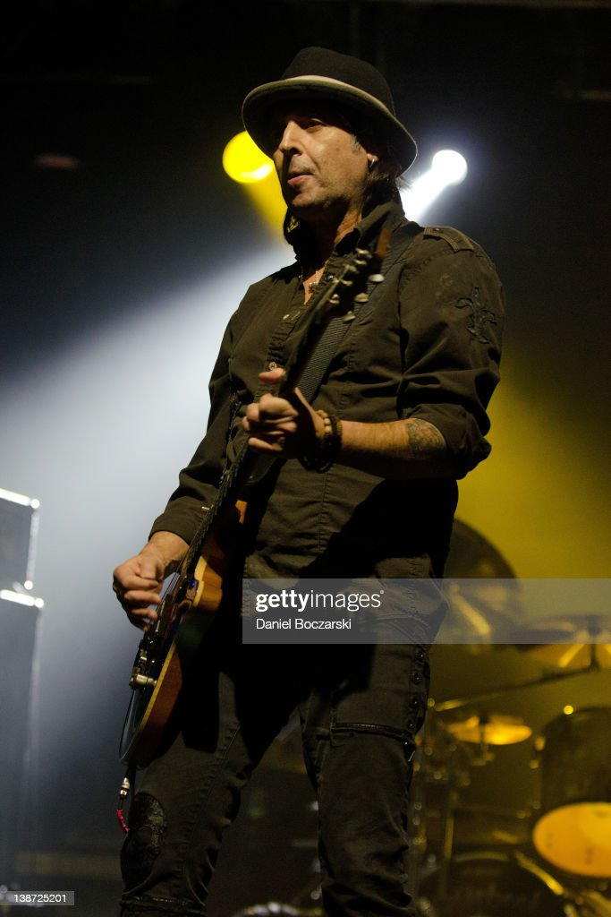 Phil Campbell of Motorhead performs at the Aragon Ballroom on February 10, 2012 in Chicago, Illinois.