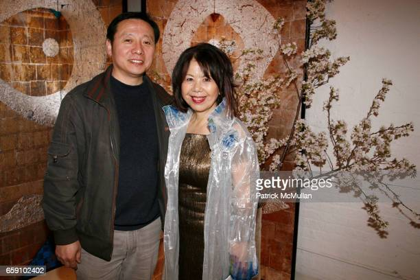 Phil Chen and Masako Yuki attend GALLERY GEN hosts an art opening for YOSHIAKI YUKI at OpenHouse on April 10 2009 in New York City