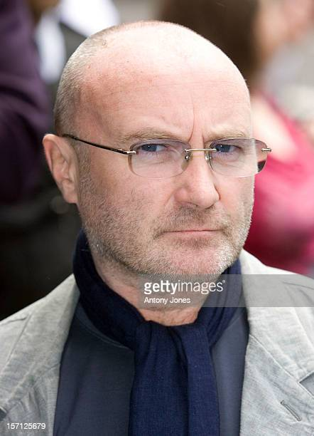 Phil Collins Arrives At The 53Rd Ivor Novello Awards At The Dorchester Hotel In London
