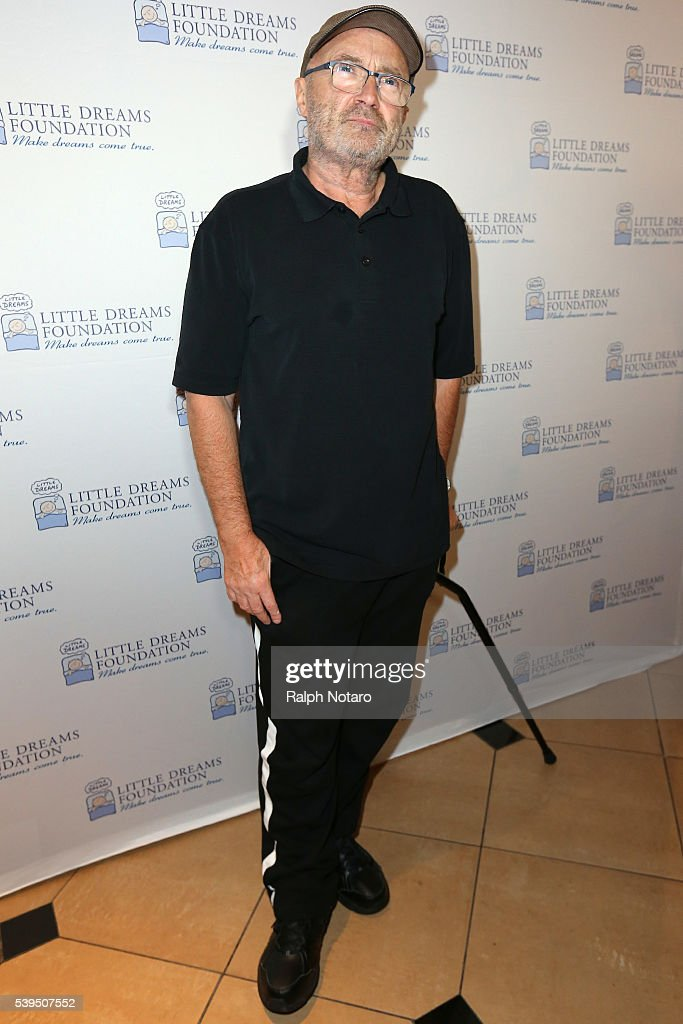 Phil Collins attends Little Dreams Foundation Annual Open Musical Auditions at Seminole Hard Rock Hotel & Casino on June 11, 2016 in Hollywood, Florida.