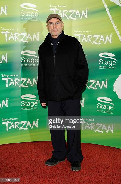 Phil Collins attends Tarzan Musical 3rd anniversary at Theatre 'Neue Flora' on October 22 2011 in Hamburg Germany
