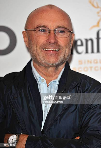 Phil Collins attends the Glenfiddich Mojo Honours List at The Brewery on July 21 2011 in London England