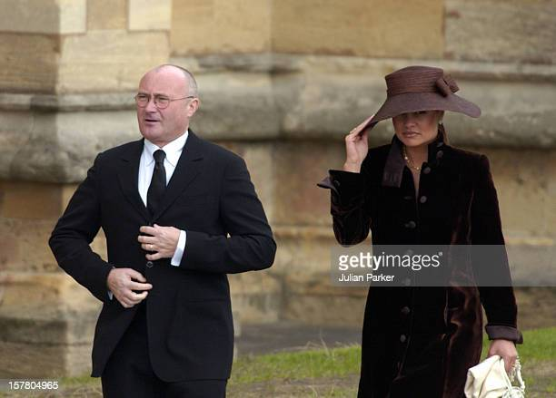 Phil Collins Attends The Wedding Of Hrh The Prince Of Wales Mrs Camilla Parker Bowles At St George'S Chapel Windsor