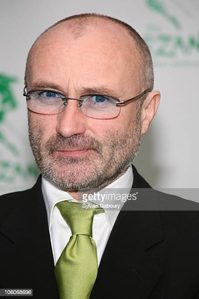 Phil Collins during Opening Night of 'Tarzan' Arrivals at Richard Rodgers Theater in New York NY United States