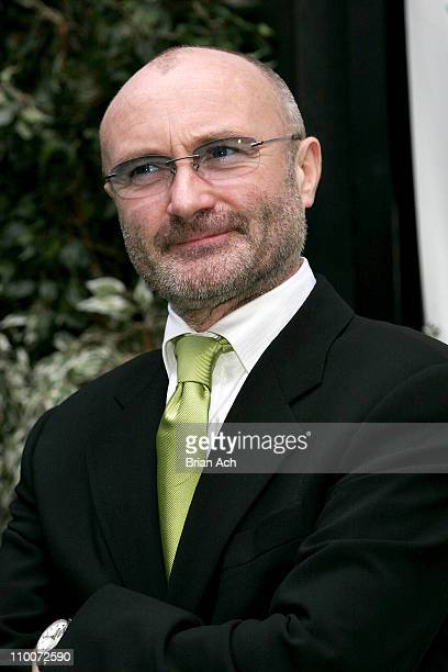 Phil Collins during Opening Night of the Broadway Musical 'Tarzan' Red Carpet at Richard Rogers Theatre in New York New York United States