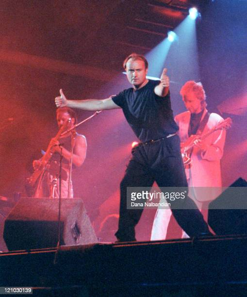 Phil Collins during Phil Collins Performs at the Tacoma Dome June 1992 at Tacoma Dome in Tacoma Washingon United States