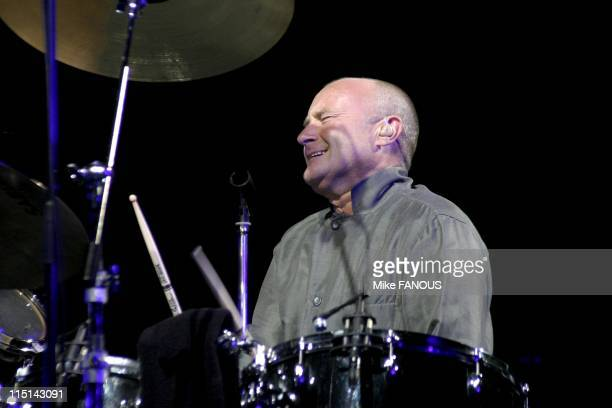 Phil Collins First Final Farewell Tour at the Staples Center in Los Angeles United States on August 31 2004 Live performance