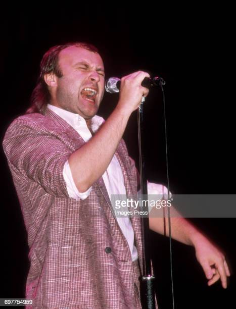 Phil Collins in concert circa 1985 in New York City