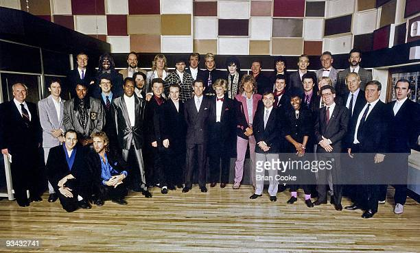 Phil Collins of Genesis Ashley Ingram of Imagination Ian Anderson of Jethro Tull Rick Parfitt of Status Quo John Keeble Martin Kemp Steve Norman of...