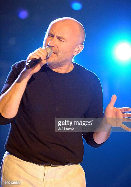 Phil Collins of Genesis during 2007 VH1 Rock Honors Show at Mandalay Bay in Las Vegas Nevada United States