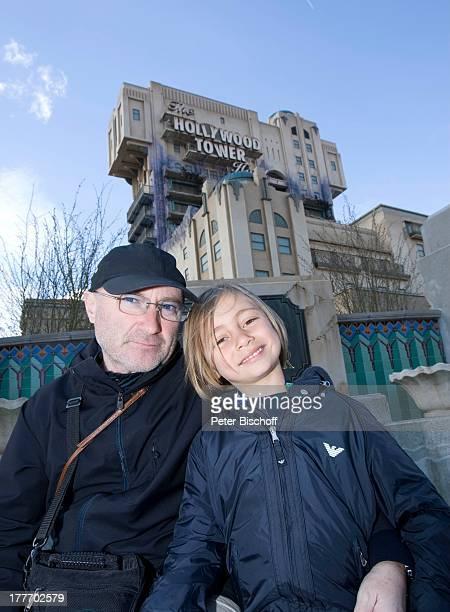 Phil Collins Sohn neue Attraktion 'The Hollywood Tower Hotel' 'Disneyland Resort Paris' Disney Studios Frankreich Europa Freizeitpark Vergnügungspark...