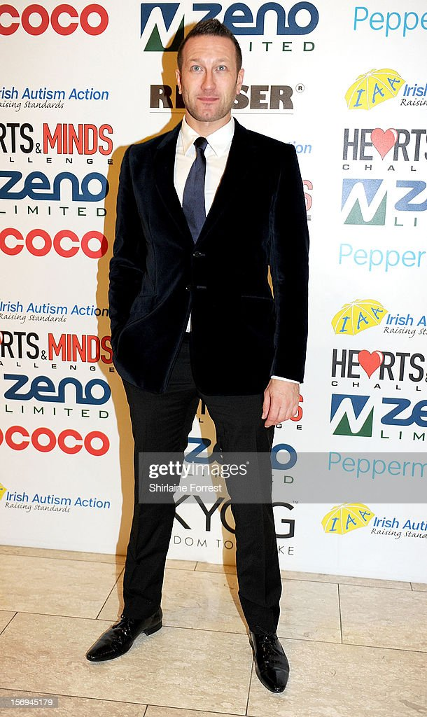 Phil Collinson attends the Hearts and Minds charity ball at Hilton Hotel on November 25, 2012 in Manchester, England.