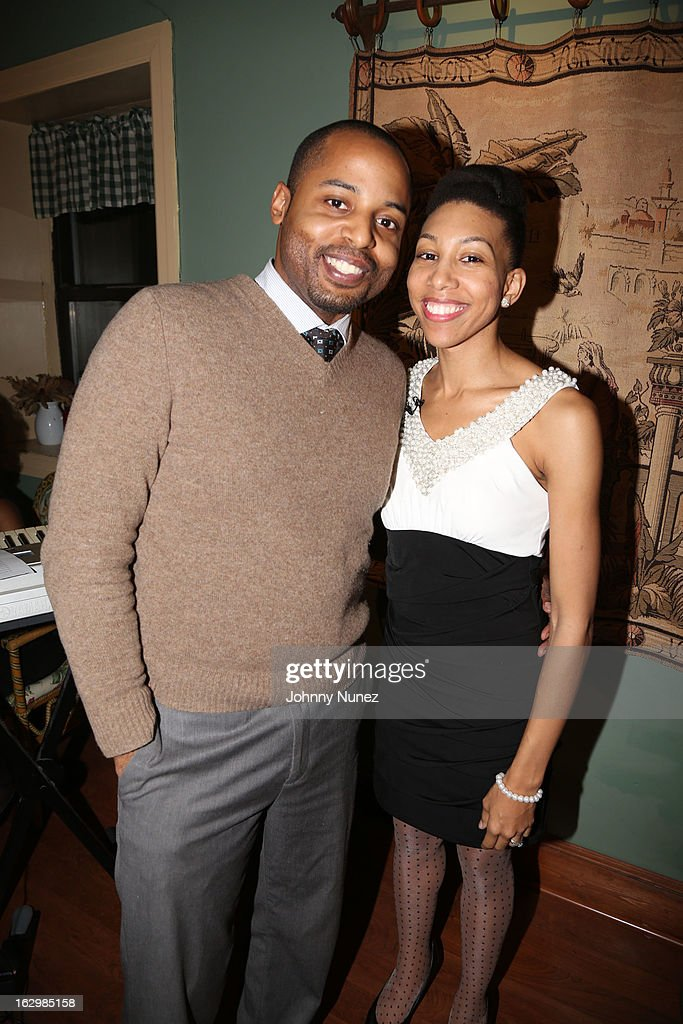 Phil Dalencour and Yauri Dalencour attend the 2013 Yauri Dalencour Dance Black History Month Benefit at the Moran Victorian Mansion on February 23, 2013 in New York City.