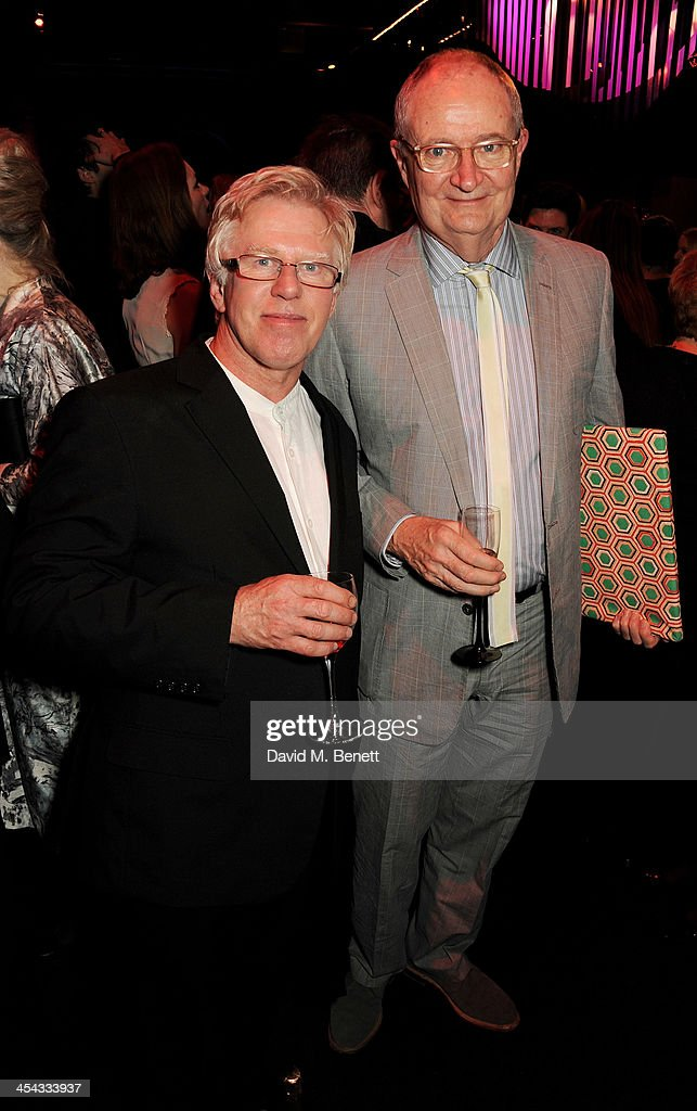 Phil Davis (L) and Jim Broadbent attend an after party following the Moet British Independent Film Awards 2013 at Old Billingsgate Market on December 8, 2013 in London, England.