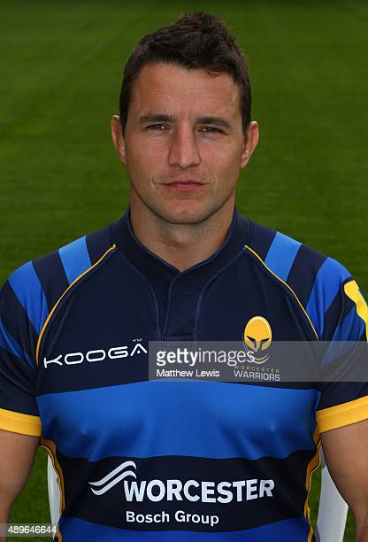 Phil Dowson of Worcester Warriors poses for a portrait at the photocall held at Sixways Stadium on September 23 2015 in Worcester England