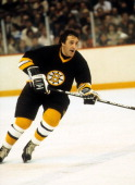Phil Esposito of the Boston Bruins skates on the ice during an NHL game circa 1972