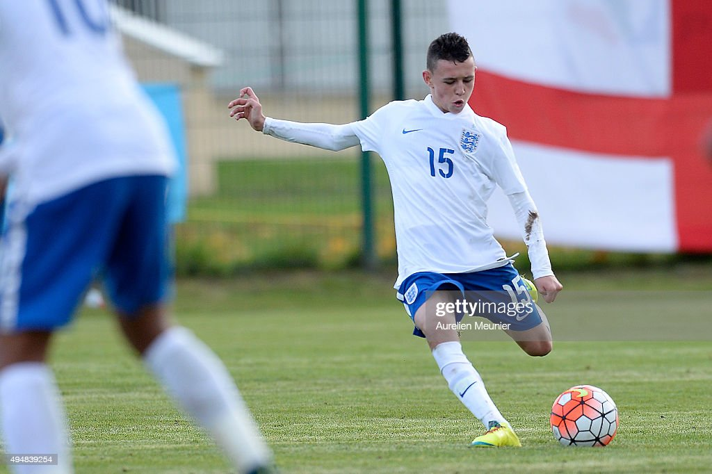 England U16 v Netherlands U16 - Tournoi International : News Photo