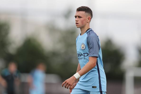 Manchester City v West Bromwich Albion: U18 Premier League : News Photo