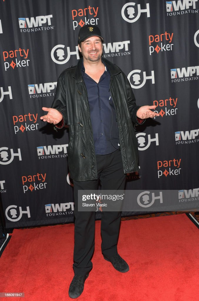 <a gi-track='captionPersonalityLinkClicked' href=/galleries/search?phrase=Phil+Hellmuth&family=editorial&specificpeople=810515 ng-click='$event.stopPropagation()'>Phil Hellmuth</a> attends The Children's Hospital Of Philadelphia & World Poker Tour 'All In' For Kids Poker Tournament at Mandarin Oriental Hotel on November 14, 2013 in New York City.