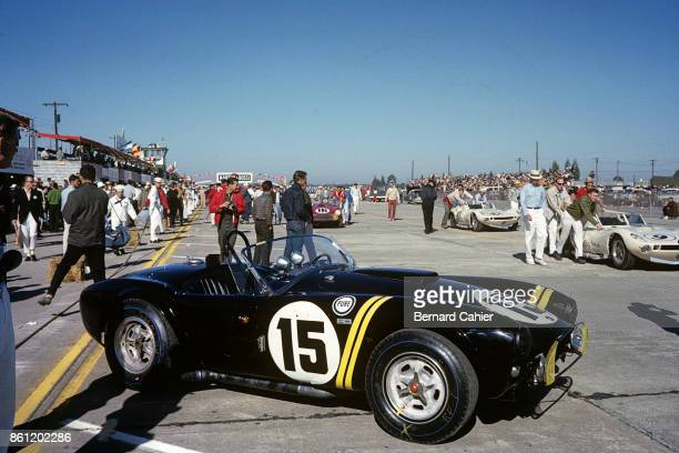 Phil Hill Dan Gurney Shelby Cobra 12 Hours of Sebring Watkins Glen International 06 October 1963 The Shelby Cobra driven by Phil Hill and Dan Gurney...