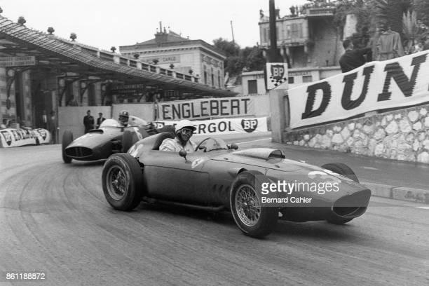 Phil Hill Graham Hill Ferrari 246 BRM P48 Grand Prix of Monaco Circuit de Monaco 29 May 1960 Phil Hill and Graham Hill two future World Champions...