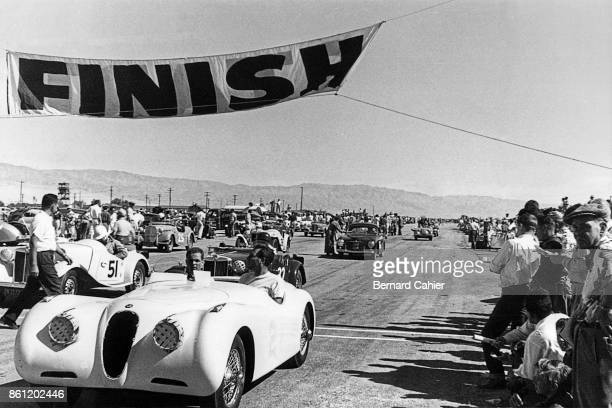 Phil Hill Jaguar XK120 California Sports Car Club Palm Springs California 28 October 1951 Phil Hill in his early days of racing in California here...