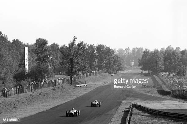 Phil Hill Richie Ginther Ferrari 156 Sharknose Grand Prix of Italy Autodromo Nazionale Monza 10 September 1961