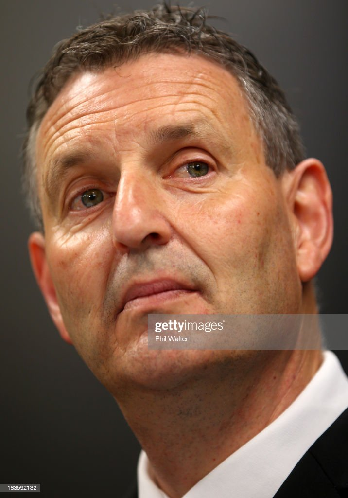 Phil Holden looks on during the New Zealand Kiwis Rugby League World Cup Squad Announcement at Rugby League House on October 8, 2013 in Auckland, New Zealand.