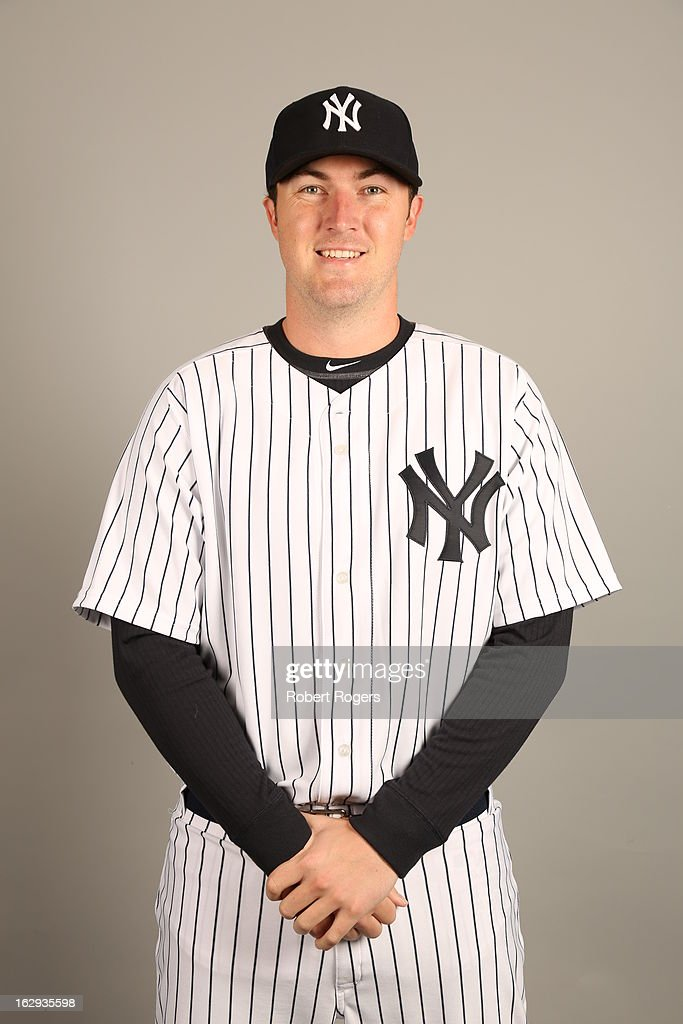 Phil Hughes #65 of the New York Yankees poses during Photo Day on February 20, 2013 at George M. Steinbrenner Field in Tampa, Florida.