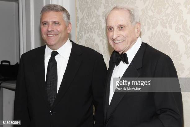 Phil Kent and Herbert S Schlosser attend MUSEUM Of The MOVING IMAGE Dinner In Honor Of KATIE COURIC And PHIL KENT at St Regis Hotel on May 5 2010 in...