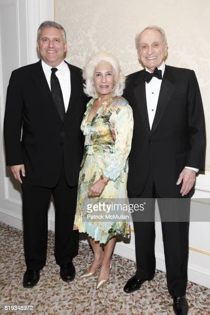 Phil Kent Rochelle Slovin and Herbert S Schlosser attend MUSEUM Of The MOVING IMAGE Dinner In Honor Of KATIE COURIC And PHIL KENT at St Regis Hotel...