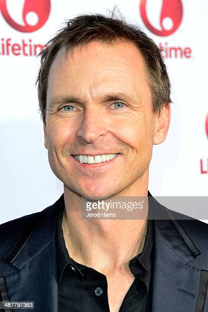 Phil Keoghan arrives at the Premiere of Lifetime Television's 'Return To Zero' at Paramount Theater on the Paramount Studios lot on May 1 2014 in...