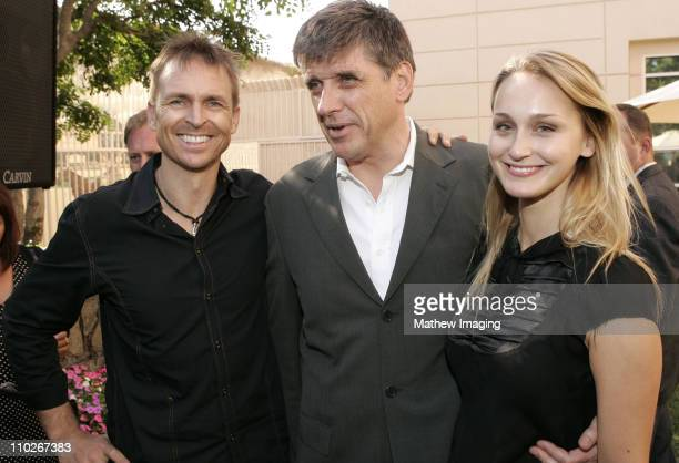 Phil Keoghan Craig Ferguson and guest during 3rd Annual BAFTA Tea Party Honoring Emmy Nominees at Park Hyatt Hotel in Century City California United...