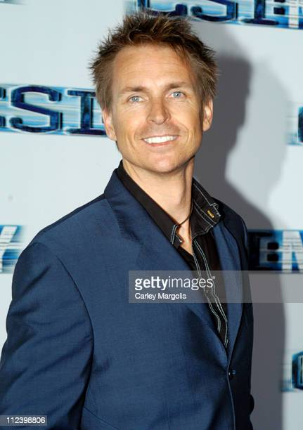 Phil Keoghan host of 'The Amazing Race' during 'CSI NY' New York Premiere at Ed Sullivan Theater in New York City New York United States