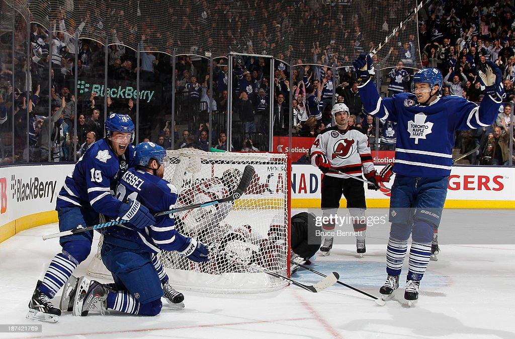 New Jersey Devils v Toronto Maple Leafs