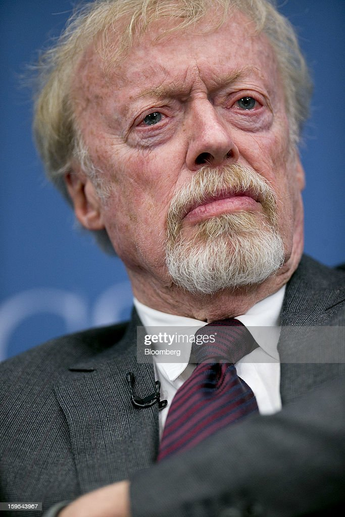 <a gi-track='captionPersonalityLinkClicked' href=/galleries/search?phrase=Phil+Knight&family=editorial&specificpeople=2278905 ng-click='$event.stopPropagation()'>Phil Knight</a>, chairman and co-founder of Nike Inc., listens during a panel discussion at the Brookings Institution in Washington, D.C., U.S., on Tuesday, Jan. 15, 2013. The event was titled 'Fostering Growth Through Innovation.' Photographer: Andrew Harrer/Bloomberg via Getty Images